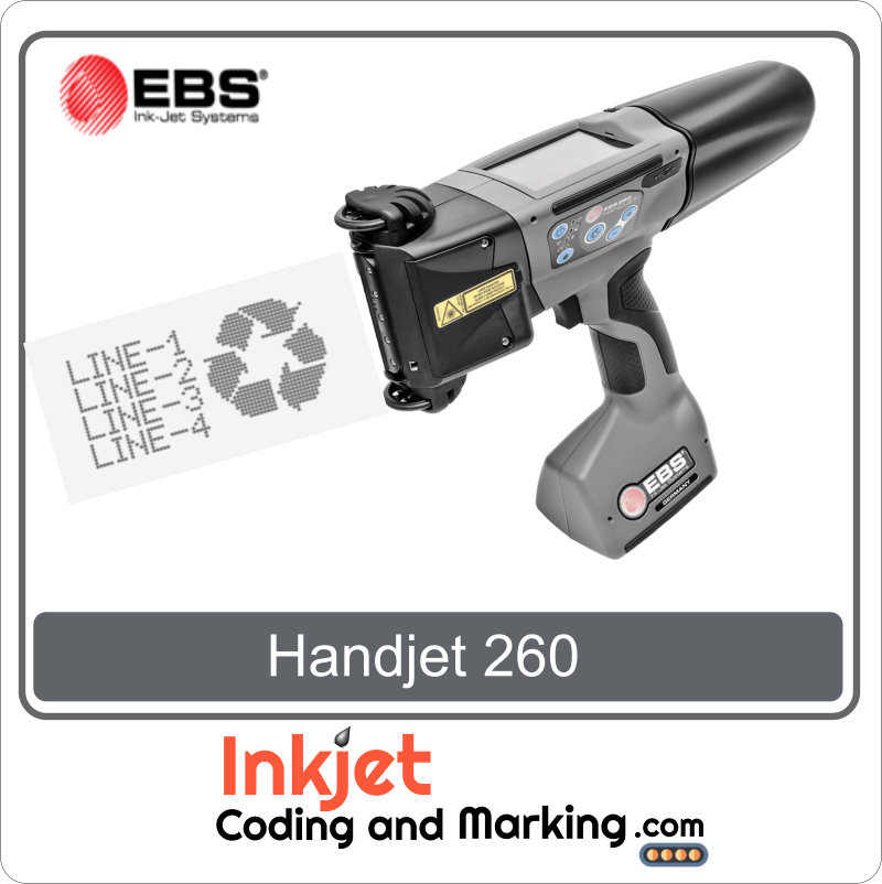 Handjet ebs 260 printer price