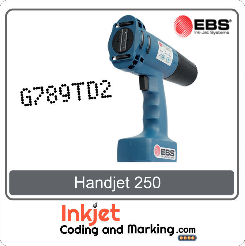 Handjet Portable Printer EBS 250 - Handjet EBS 250 Price