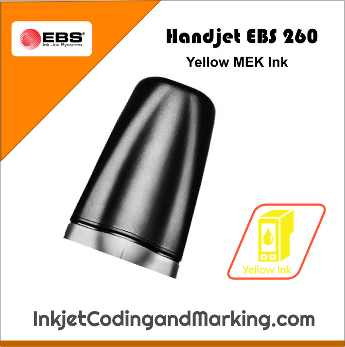 Handjet Ebs 260 Printer Ink Yellow Mek Ink