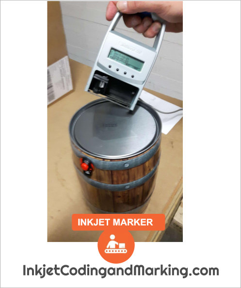 Inkjet Marker Date Code Portable And Mobile